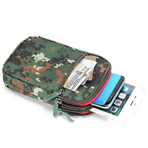 DFV Mobile - Nuevo Diseño Funda Cinturon Multiusos Camuflaje Militar Naval Ejercito...