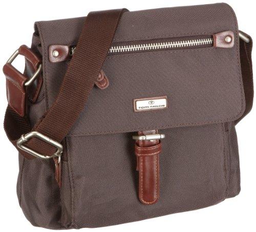TOM TAILOR Damen Taschen und Geldbörsen kleine Überschlagtasche braun/brown,OneSize