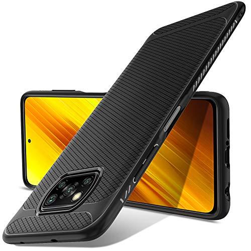 Luibor für Xiaomi Poco X3 NFC Hülle, Ultra Dünn Handyhülle, Qualität Stoßdämpfend, Staubschutz, Anti-Kratz Schutzhülle für Xiaomi Poco X3 NFC Hülle