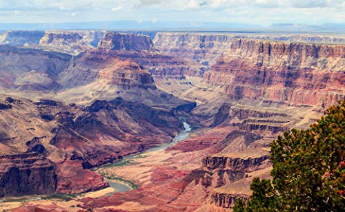 Kera-Fit Deluxe Infrarotheizung mit Bild | infrarot heizung wand | infrarot flachheizung | heizbild infrarot | Elektroheizung (220 Watt, Grand Canyon)