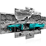Runa Art - Bilder Auto Grand Canyon 200 x 100 cm 5 Teilig