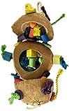 Penn-Plax BA1870 Coconut Kabob with Wood & Sisal Pet Collar
