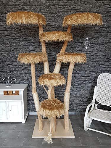 Naturkratzbaum 1220 Kratzbaum Natur Holz Design DIWOR