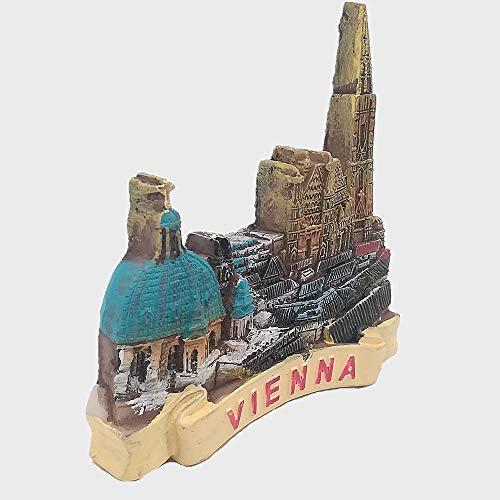 3D Wien Österreich Kühlschrankmagnet Souvenir Geschenk & Sammlung, Heim- & Küchendekoration, Magnetaufkleber, Österreich Wien Kühlschrankmagnet