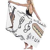 If Not Instrumento Musical de Dibujos Animados Toalla de Playa Toalla de baño...