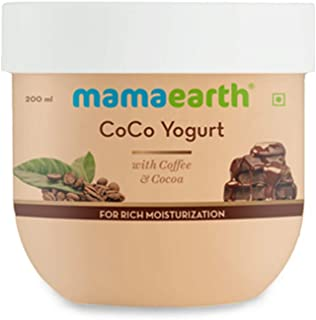 Mamaearth CoCo Yogurt, lotion for woman, with Coffee and Cocoa for Rich Moisturization - 200 ml