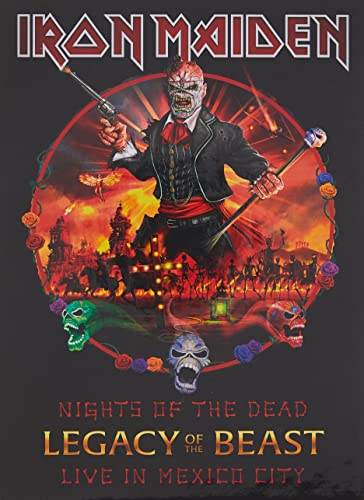 Iron Maiden: Nights of the Dead,Legacy of the Beast:Live (Audio CD (Deluxe Edition))