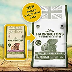Enhanced, bigger, monthly sized bag of dog food, your dog will love No artificial colours or flavours, no dairy, no soya, no added wheat Kelp - a natural source of vitamins, minerals and trace elements Citrus extracts and added vitamins help support ...