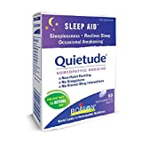 Boiron Homeopathic Medicine Quietude Tablets for Restless Sleep, 60-Count Boxes (Pack of 3)