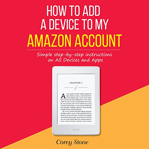 How to Add a Device to My Amazon Account audiobook cover art