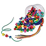 Learning Resources Lowercase Lacing Letters, Fine Motor Skills, Early Spelling 260 Pieces Ages 3+