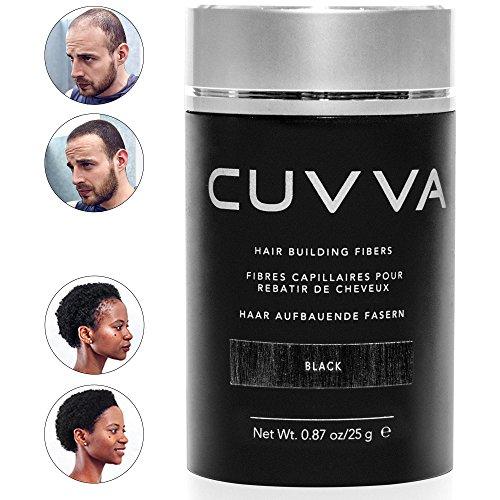 CUVVA Hair Fibers - Hair Loss Concealer for Thinning Hair - Keratin Hair Building Fibers Will...