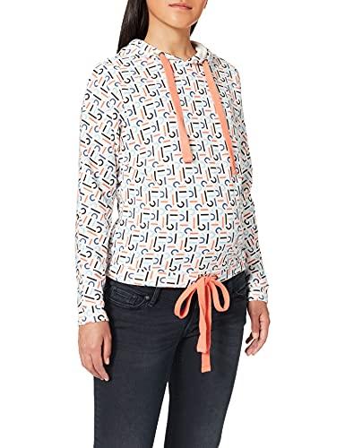 ESPRIT Maternity Sweatshirt ls AOP Sweat-Shirt de Maternité, Multicolore (Blanc cassé 110), M Femme
