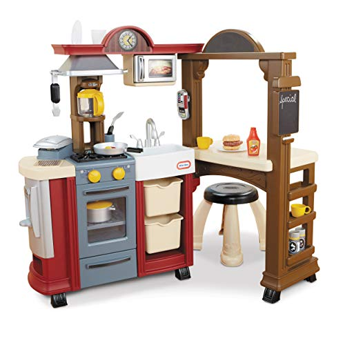 Little Tikes Kitchen & Restaurant-Red, Multicolored