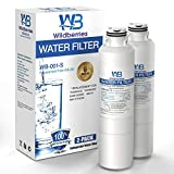 Wildberries DA97-08006A-1 Water Filter Replacement for Samsung Refrigerators Compatible with Samsung DA29-00020B, RS25H5111SG, HAF-CIN, HAF-CIN/EXP, 46-9101, Pack of 2