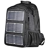 Jauch Solar Backpack | Kilimanjaro 45 | 10 Watt Integrated Solar Panel with 5V USB Output Port | 45 litres | Charges Smartphones, Tablets, GPS and Other USB Devices