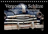 Vergessene Schaetze - Oldtimer auf Schrottplaetzen (Tischkalender 2022 DIN A5 quer): Auf osteuropaeischen Schrottplaetzen kann man wahre Auto-Schaetze entdecken (Monatskalender, 14 Seiten )