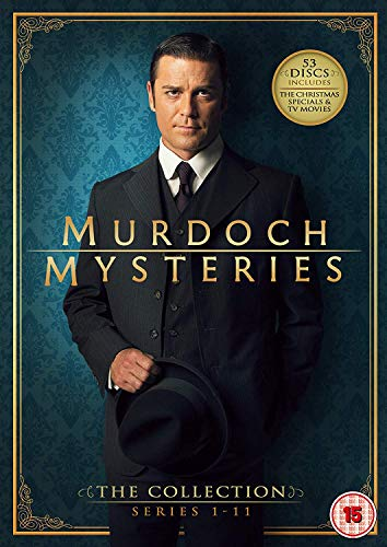 Murdoch Mysteries - The Collection: Series 1-11(includes the Christmas Specials and TV Movies) (53 DVDs)