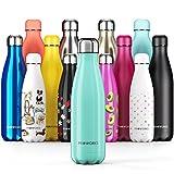 Proworks Bottiglia Acqua in Acciaio Inox, Senza BPA Vuoto Isolato Borraccia Termica...