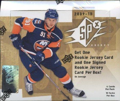 2009/10 Upper Deck SPx Hockey Hobby Box NHL