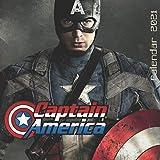 Captain America Calendar 2021: Avengers, Chris Evans, A 16-Month Calendar 2021