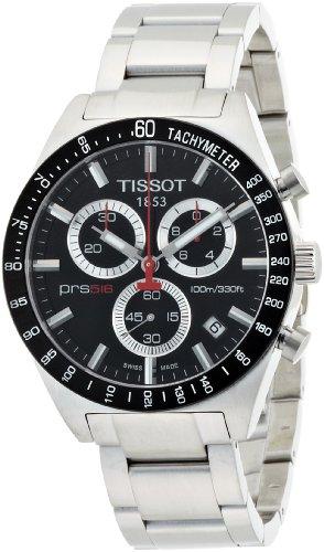 Tissot T0444172105100 - Orologio da polso da uomo, cinturino in acciaio inox colore argento
