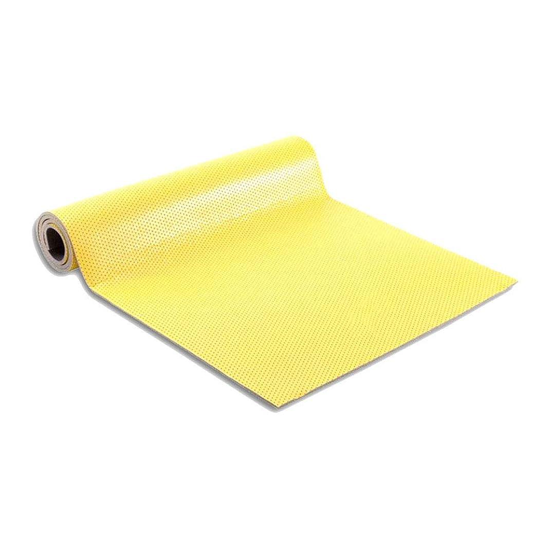 予約サイレン闇ヨガマット女性スリップ7ミリメートル厚いプロフィットマット(黄色160センチメートル×60センチメートル)