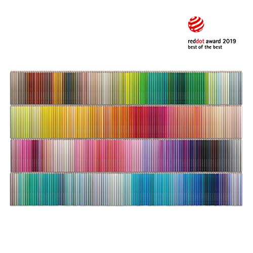 FELISSIMO Original Design 500 Colored Pencils - Tokyo Seed series - a set of 500 different colors perfect for coloring and drawing, or display