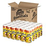 Bounty Paper Towels, White, Regular Roll, 40 Sheets Per Roll (Case of 30)