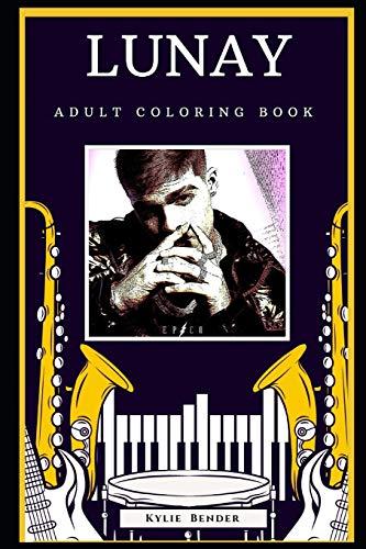 Lunay Adult Coloring Book: Fun Anti-Stress Coloring Book for Adults (Lunay Books)