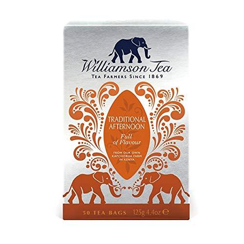 ウィリアムソン紅茶 トラディショナルアフタヌーンティーバック 50P