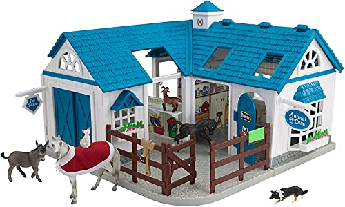 """Breyer Stablemates Deluxe Animal Hospital 