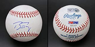 buster posey autographed ball
