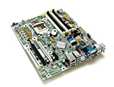 HP 657094-001 Genuine OEM Compaq Elite 8300 6300 Pro Small Form Factor SFF Desktop Intel Motherboard 8000 Series 3.0 USB Internet RJ-45 VGA Audio Display Port PCIE 657094-501 657094-601 657239-501