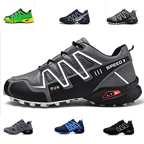 MIAOML Zapatos De Trekking Unisex Zapatos De Senderismo Al Aire Libre Zapatos De Senderismo Casual De Unisex Zapatos De Mujer Impermeable Transpirable,F-40 EU