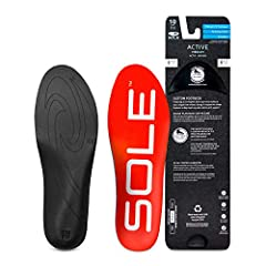 Sole footbeds are accepted by the American Podiatric Medical Association Clinically proven to reduce plantar fasciitis strain by 34% Zero drop heel cups allow for natural foot alignment by distributing weight and pressure equally Insole with 1.6 mill...