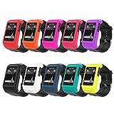 MoKo Schutzhülle für Garmin Vivoactive HR, [10 STK.] weiche Silikon Ganzkörper Schutzhülle stoßfest Uhr Case Protector Zubehör für Garmin Vivoactive HR Smartwatch, Multi Farben