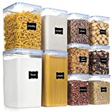Best Flour Containers - Airtight Food Storage Containers with Lids, PantryStar 10 Review