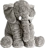 Tuko Stuffed Animal Elephant Stuffed Animal,Large Stuffed Animals 24 Inches/Grey