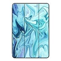 Sepikey iPad Pro 12.9 2018/iPad Pro タブレットケース, 傷防止 アンチダスト アンチドロップ 三段角度調節 PC + PU 三つ折りブラケット シェル iPad Pro 12.9 2018/iPad Pro Case-染料7