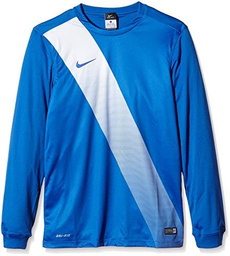 Nike Jersey à Manches Longues avec Ceinture Large Multicolore - Multi-Coloured - Royal Blue/Football White