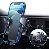 Lisen Car Mount for Phone [Auto Clamp] Car Vent Phone Mount,Ultra Stable Phone Holder for Car, iPhone 12 Car Phone Mount Compatible with 4'-7' iPhone, Samsung Galaxy S21/s20/s20+/s10/s9/note 20/10