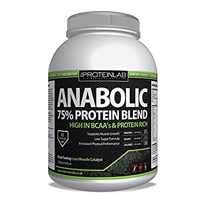 Anabolic Whey Protein 2.25kg Free Next Day Delivery from The Protein Lab