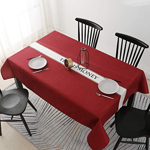 SZTTDM Tischdecke öLdicht Wasserdicht Tischdecke Haushalt VerbrüHschutz Tischmatte Rechteckiger Schreibtisch Couchtisch Tischdecke,100x160cm