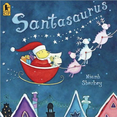 Santasaurus  By  cover art