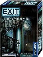 Kosmos FKS6940360 694036 - EXIT - Das Spiel, Die unheimliche Villa, Level: Fortgeschrittene, Escape Room Spiel, für 1...