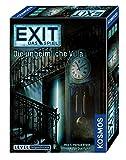 KOSMOS 694036 - EXIT - Das Spiel, Die unheimliche Villa, Level: Fortgeschrittene, Escape Room Spiel, für 1 bis 4 Spieler ab 12 Jahren, einmaliges Event-Spiel für Erwachsene und Kinder