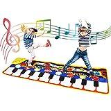 Coolplay Tapete para Piano tamaño Grande (39 * 14 Pulgadas) Juguete para niños con Teclado y Teclado...