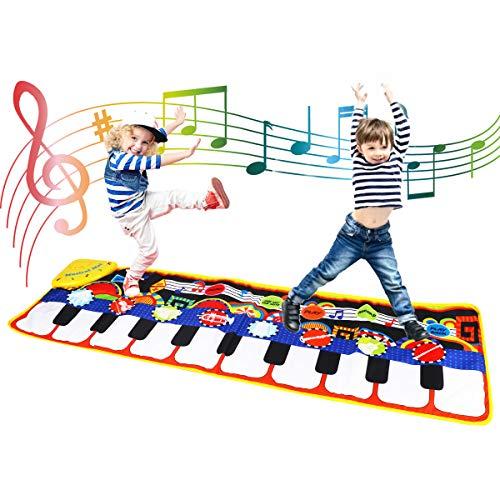 Tapete piano para niños tamaño grande de Coolplay