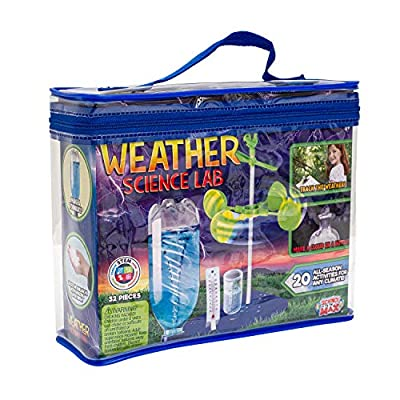 Be Amazing! Toys Weather Science Lab - Kids Weather Science Kit with 20 All Season Science Projects - Educational STEM Science Kits for Boys & Girls - Scientific Meteorology Toys for Children Age 8+ by Creative Kids